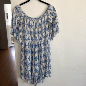 Hippie Love Off Shoulder Flowy Boho Tunic/Dress
